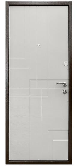 Коричневые входные двери СТАНДАРТ СК-1