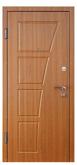 Дуб золотой входные двери СТАНДАРТ СК-2