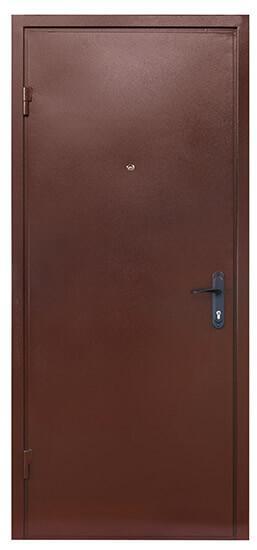 Коричневые входные двери СТАНДАРТ СК-3