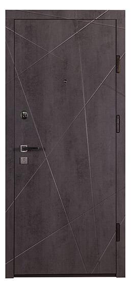 Коричневые входные двери СТАНДАРТ СК-5