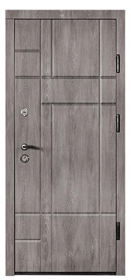 Коричневые входные двери СТАНДАРТ СК-6