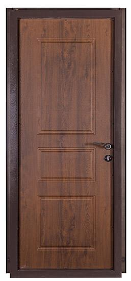 Коричневые входные двери СТАНДАРТ СК-7